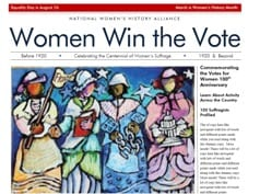 In USA, women's right to vote is only 100 years old