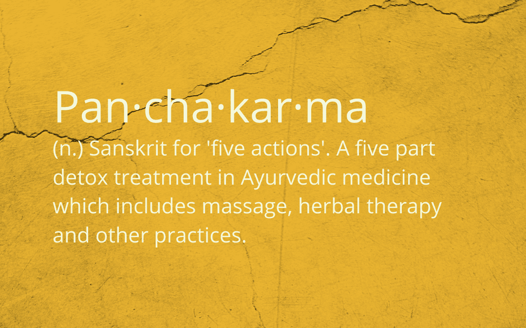 The antidote for inflammation: An eight-day ayurvedic cleanse known as panchakarma