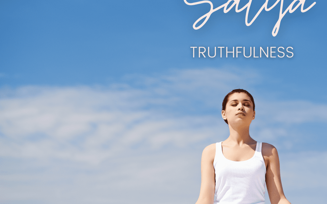 This week, we look at the practice of truthfulness, or satya