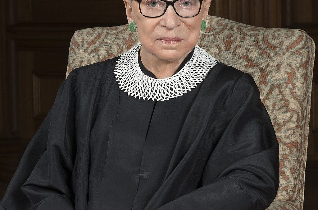 Mourning a champion for us all: RBG